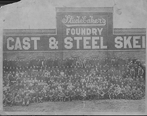 Studebakers Foundry Employees