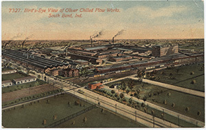 Bird's Eye View of Oliver Chilled Plow Works